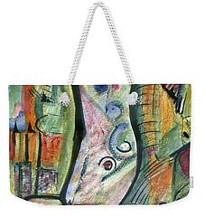 Coco Palm Weekender Tote Bag