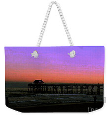 Weekender Tote Bag featuring the photograph Cocoa Beach Sunset by Gary Wonning