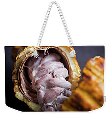 Weekender Tote Bag featuring the photograph Cocoa by Heather Applegate