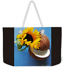 Coconut And Sunflower Harmony Weekender Tote Bag