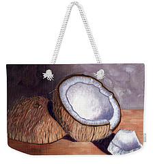 Coconut Anyone? Weekender Tote Bag