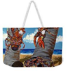 Coconut Crab Cluster Weekender Tote Bag