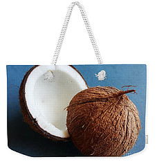 Weekender Tote Bag featuring the photograph Coconut by Jasna Gopic