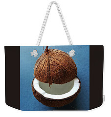 Coconut King Weekender Tote Bag by Jasna Gopic
