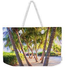 Coconut Palms Inn Beachfront Weekender Tote Bag
