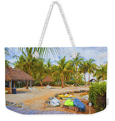 Coconut Palms Inn Beach Weekender Tote Bag