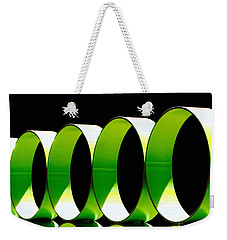 Code Weekender Tote Bag by Cathy Dee Janes