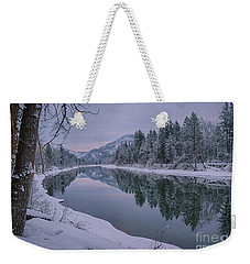 Coeur D Alene River Reflections Weekender Tote Bag