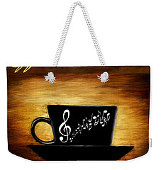 Coffee And Music Weekender Tote Bag