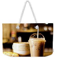 Coffee Bar Atmosphere Weekender Tote Bag