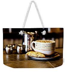 Coffee Bar Weekender Tote Bag