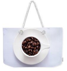 Coffee Beans Weekender Tote Bag by Happy Home Artistry