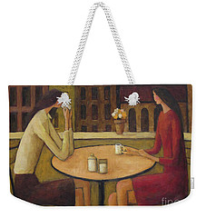 Coffee Break Weekender Tote Bag by Glenn Quist