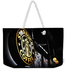 Coffee Break Weekender Tote Bag by Spencer McDonald