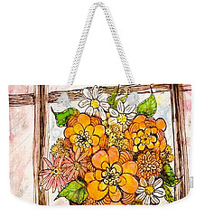 Coffee Can Bouquet  Weekender Tote Bag
