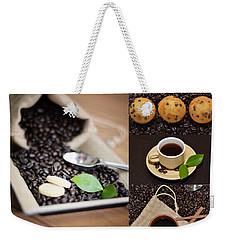 Coffee Collage Photo Weekender Tote Bag