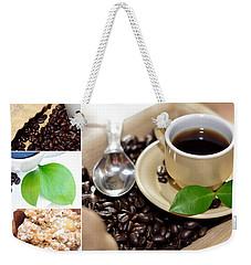 Coffee Collage  Weekender Tote Bag