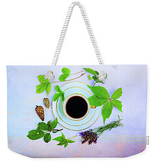 Coffee Delight Weekender Tote Bag