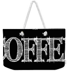 Coffee Fill Line Mug Weekender Tote Bag