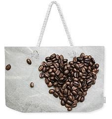 Coffee Heart Weekender Tote Bag
