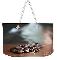 Coffee Lover  Weekender Tote Bag by Lynn England