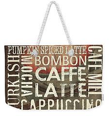 Coffee Of The Day 2 Weekender Tote Bag by Debbie DeWitt
