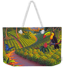 Coffee Plantation Weekender Tote Bag by Robin Moline