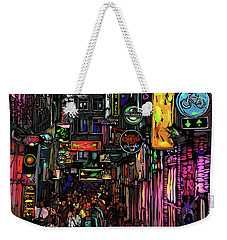 Coffee Shop, Amsterdam Weekender Tote Bag