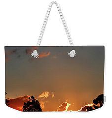 Coffee Sunset Weekender Tote Bag by Mark Blauhoefer