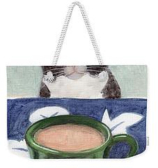 Coffee With Henry #4 Weekender Tote Bag