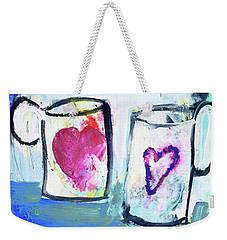 Coffee With Love Weekender Tote Bag