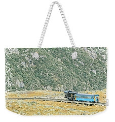 Cog Railroad Train. Weekender Tote Bag