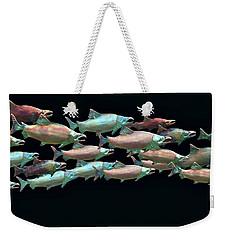 Coho Migration Weekender Tote Bag