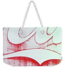Coke 4 Weekender Tote Bag by Laurie Stewart