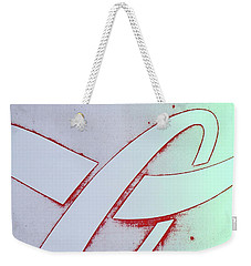 Weekender Tote Bag featuring the photograph Coke by Laurie Stewart