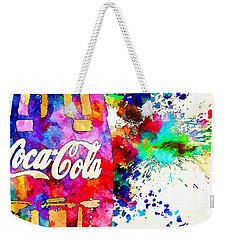Cola Grunge Weekender Tote Bag