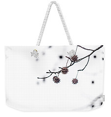 Cold And Pointy Weekender Tote Bag