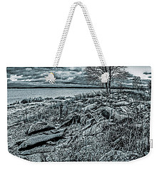 Weekender Tote Bag featuring the photograph Cold Autumn Day by Vladimir Kholostykh