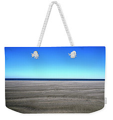 Cold Beach Day Weekender Tote Bag