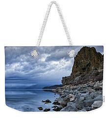 Cold Blue Cave Rock Weekender Tote Bag