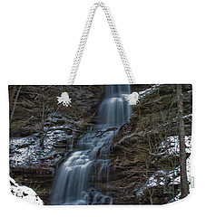 Cold Day At The Cathedral Weekender Tote Bag