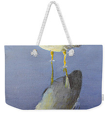 Cold Feet Weekender Tote Bag