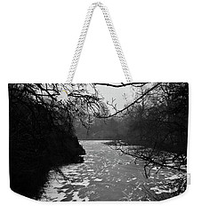 Weekender Tote Bag featuring the photograph Cold by Inge Riis McDonald