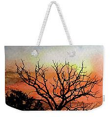 Cold Nightfall  Weekender Tote Bag by R Kyllo