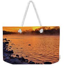 Cold November Morning Weekender Tote Bag