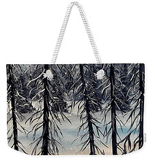 Cold Snap Weekender Tote Bag