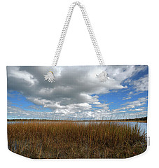 Cold Springs Pond Morning Weekender Tote Bag