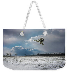 Weekender Tote Bag featuring the photograph Cold War Warrior by Gary Eason