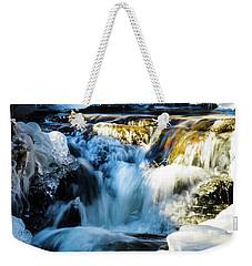 Cold Water Fall Weekender Tote Bag