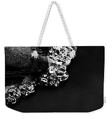 Cold White Diamonds Weekender Tote Bag by Darren White